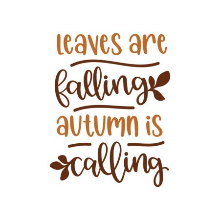 Falling Leaves Graphic Vector Stock By Pixlr