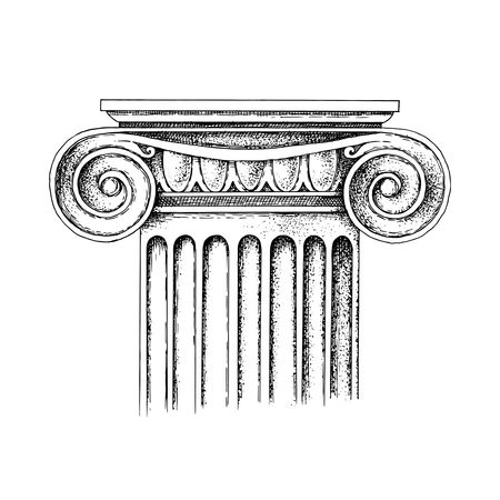 Stylized And Realistic Columns In