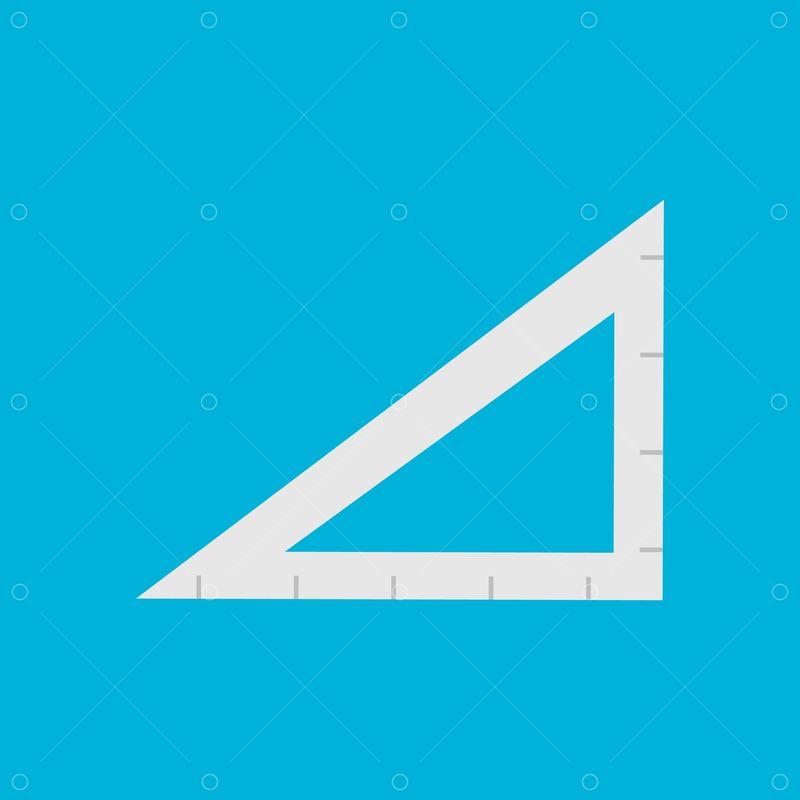 A Triangular Ruler Graphic Pixlr Market