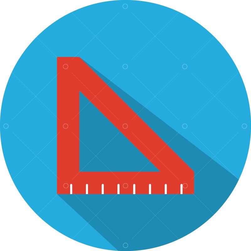 Triangle Protractor Graphic Pixlr Market