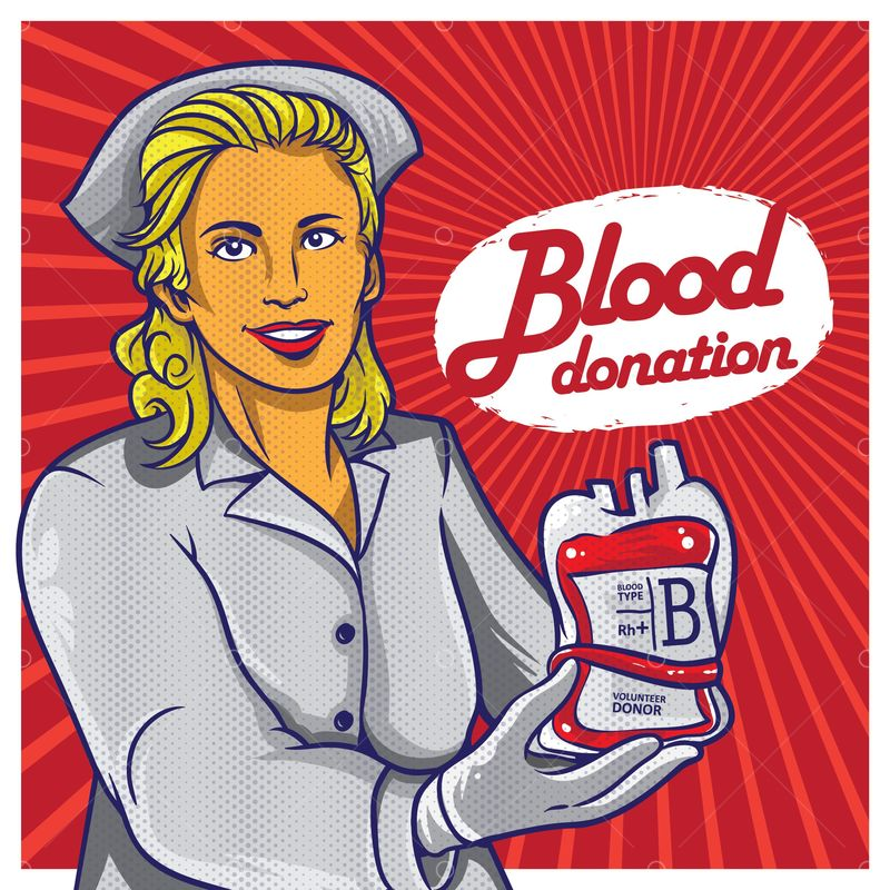 Blood Donation Poster Design Graphic Vector Stock By Pixlr
