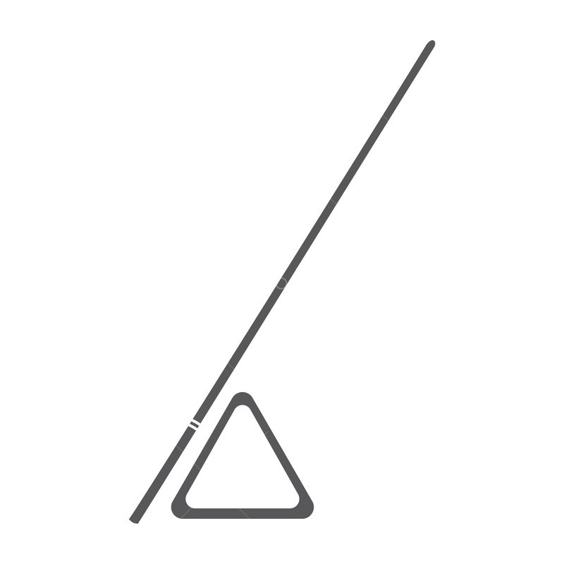 Snooker Triangle And Cue Graphic Pixlr Market