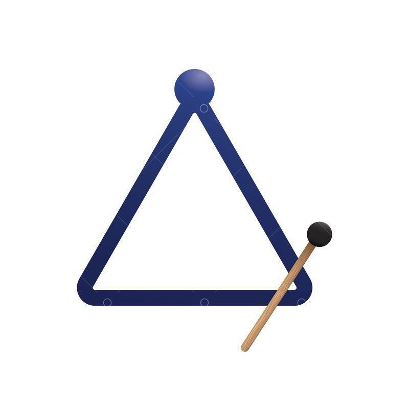 Triangle Musical Instrument Graphic Pixlr Market