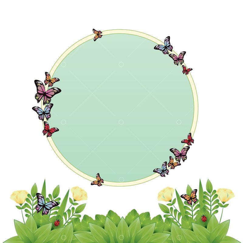 Spring Border Design Graphic Vector Stock By Pixlr Border spring illustrations & vectors. pixlr