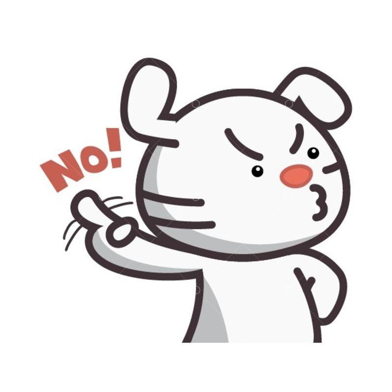 Saying No Cliparts, Stock Vector And Royalty Free Saying No Illustrations