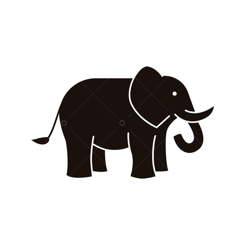 elephant icon graphic vector stock by pixlr elephant icon graphic vector stock by