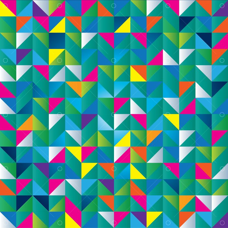Colorful Triangle Background Graphic Pixlr Market
