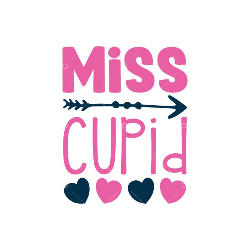 Miss Cupid Graphic Vector Stock By Pixlr