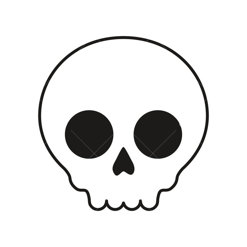 Skull Icon Over White Background Vector Illustration Graphic Vector Stock By Pixlr Now brewing…font awesome 6 alpha! pixlr