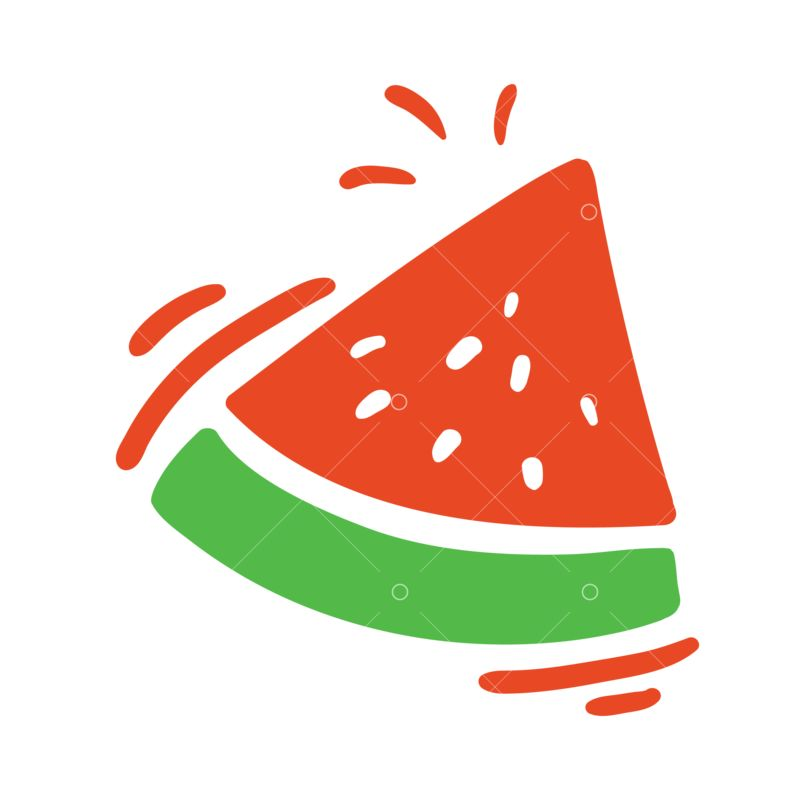 Artistic Watermelon Slice Svg Cut File Graphic Vector Stock By Pixlr