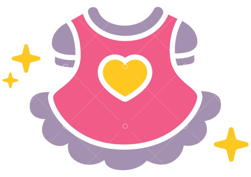 Baby Clothes Svg Cut File Graphic Vector Stock By Pixlr