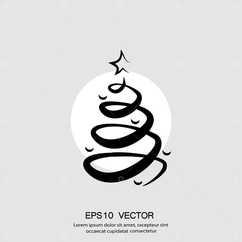 pictograph of christmas tree vector concept illustration for design eps 10 graphic vector stock by pixlr pictograph of christmas tree vector