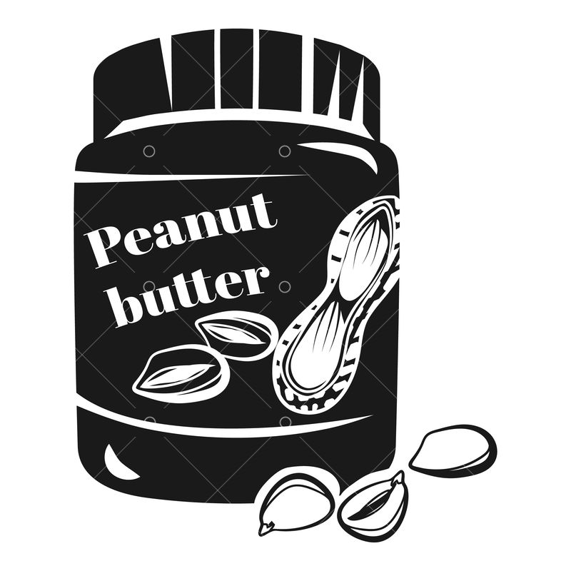 Peanut Butter And Jelly Sandwich Clip Art - Jar Of Transparent PNG