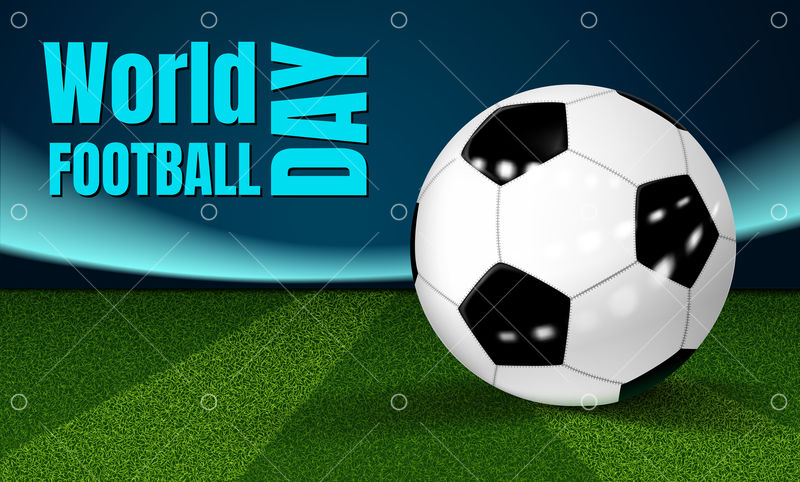 football day concept background realistic illustration of football day vector concept background for web design graphic vector stock by pixlr pixlr