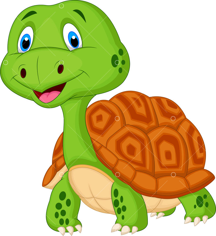 Cute Turtle Cartoon Graphic Vector Stock By Pixlr