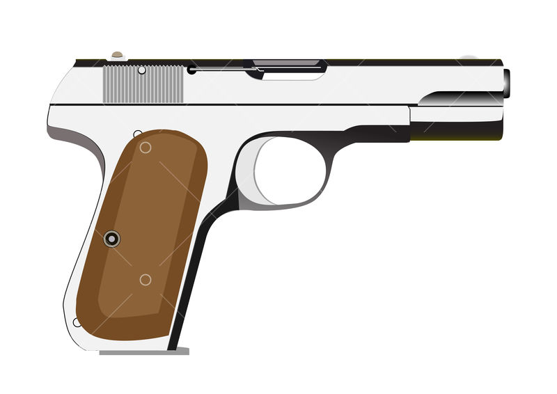 vector pistol graphic vector stock by pixlr pixlr